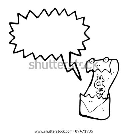 Demand For Payment Cartoon Stock Vector 89471935