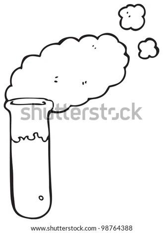 Chemical Test Tube Cartoon Stock Photo 98764388 : Shutterstock