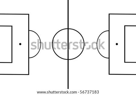 Positions In Soccer Diagram Easy Soccer Position Diagram