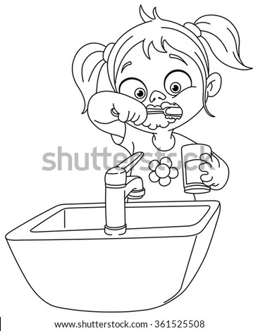 Tooth Line Art Free Vector / 4Vector