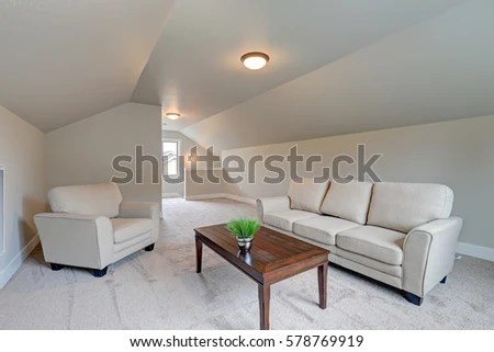 comfortable sofas for family room sleeper san antonio tx vaulted ceiling interior with grey paint color features sofa armchair and cocktail