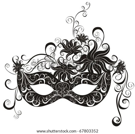 Party Mask For Masquerade. Stock Photo 67803352 : Shutterstock