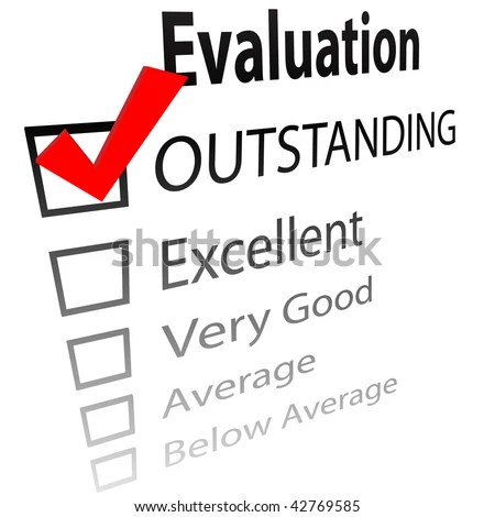 An Evaluation For Job Performance Or A Grade Report Card