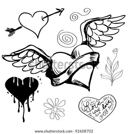 Flower tattoo back shoulder, free photo stock website