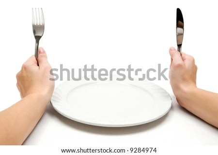 stock photo : Hungry