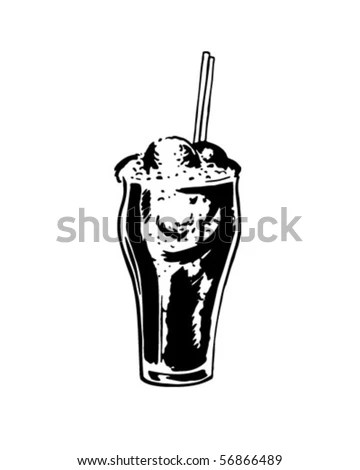Ice Cream Soda clip art Free Vector / 4Vector