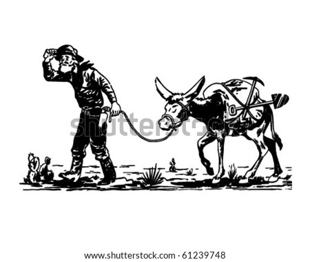 Panning For Gold Stock Illustrations And Clipart Find