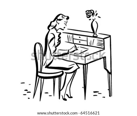 Desk Clipart