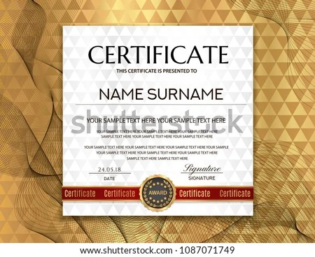 modern certificate of appreciation creative template - Download Free ...
