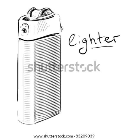 Lighter Cartoon