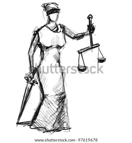 Vector Images, Illustrations and Cliparts: Themis (Femida