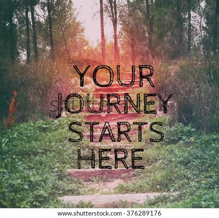 Image result for your journey starts here picture