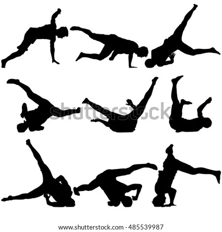 Royalty-free Silhouette of diver-vector #114806227 Stock