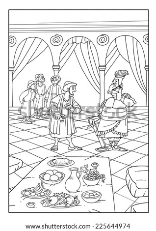 Babylonian Captivity Coloring Pages Coloring Pages