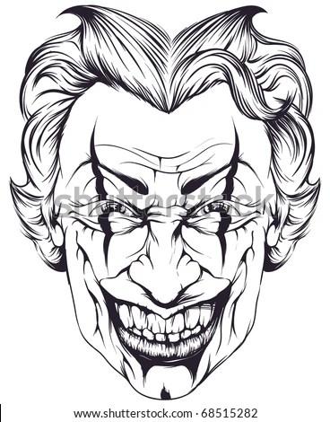 Joker Stock Vector Illustration 68515282 : Shutterstock
