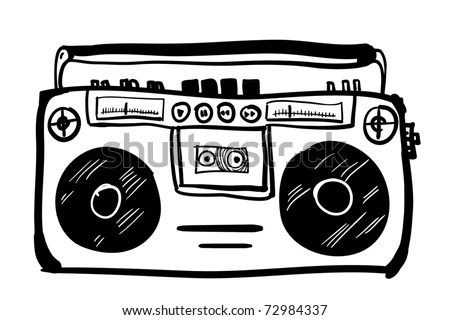 Cassette Tape Coloring Pages