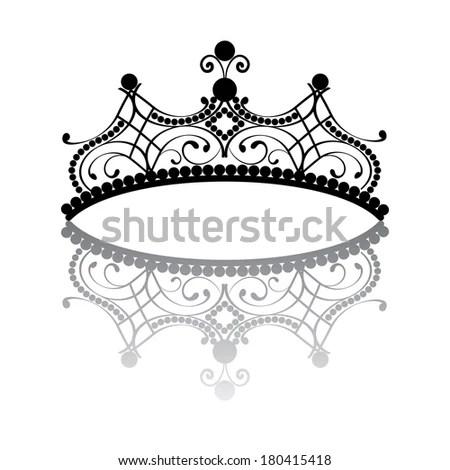 Royalty-free Diadem. elegance feminine tiara with