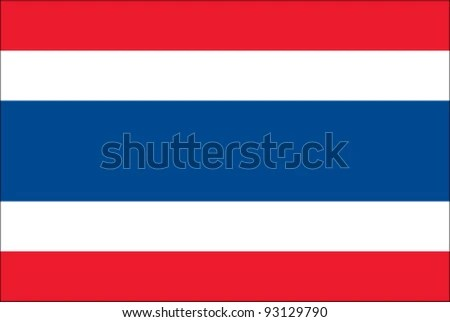 Thailand Flag - stock vector