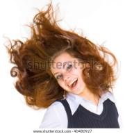 gross hair stock 40480927