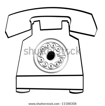 Telephone Red Phone Telephone Coloring Page Wiring Diagram