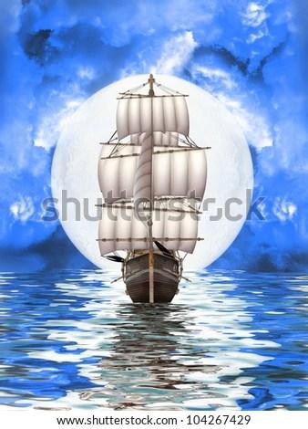 abandoned pirate ship