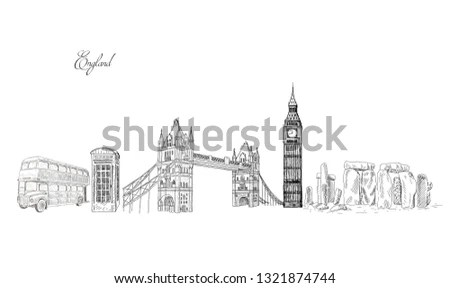 Tower Bridge, London, England, UK. Hand… Stock Photo