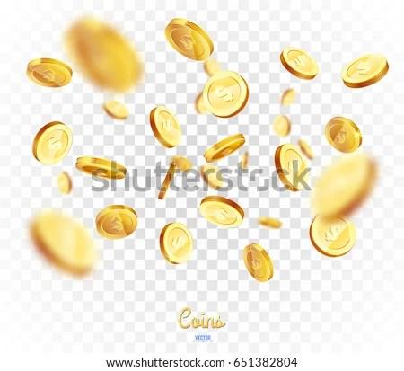Falling Money 3d Wallpaper Premium Download Coins Money Wallpaper 2560x1600 Wallpoper 399945
