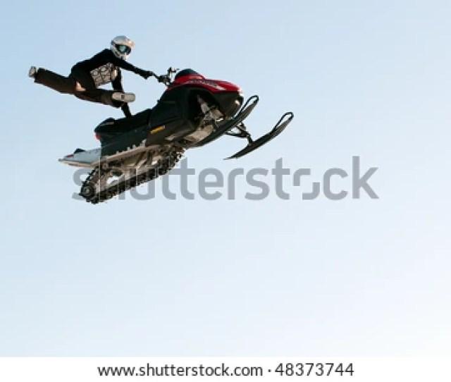 Ski Doo Mxz Location Trail P Hd Stock Photo From Shutterstocks