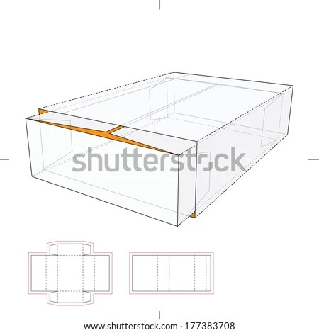 Perforated Resealable Dispenser Box… Stock Photo 246507913