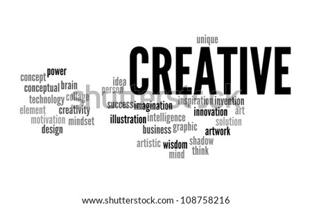Creative Thinking Info-Text Graphics And Arrangement