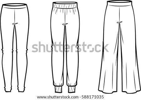 Royalty-free Tapered Cigarette Trousers, Pants