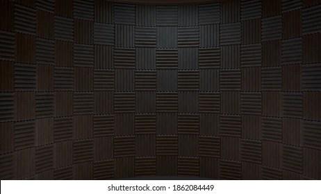 https www shutterstock com image illustration 3d rendered recording studio backdrop 1862084449