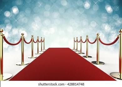 https www shutterstock com fr image illustration 3d rendering red carpet rope barrier 428814748