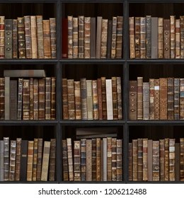 vintage books wallpaper stock