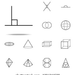 90 Degree Diagram 1998 Ford Expedition Premium Radio Wiring Angle Images Stock Photos Vectors Shutterstock Icon Geometric Figures Icons Universal Set For Web And Mobile