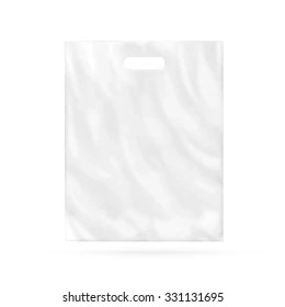 Empty plastic package mockup hold in hands isolated on white. Plastic Bag Mockup Hd Stock Images Shutterstock