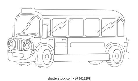 School Bus Drawing Images, Stock Photos & Vectors