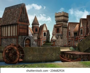 Fantasy Town Images Stock Photos & Vectors Shutterstock