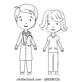 Colouring Pages Medical Images, Stock Photos & Vectors