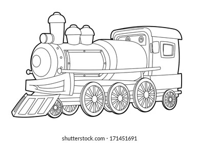 train coloring pages # 23