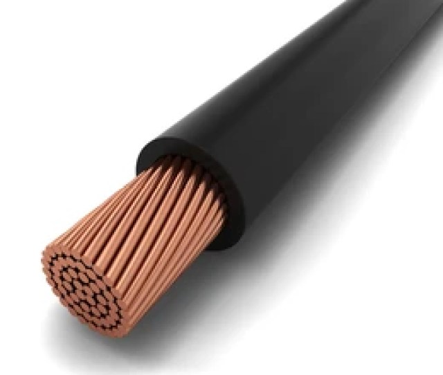 Copper Cable 3d Illustration Isolated On White Background