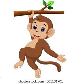 Monkey Cartoon Images Stock Photos Vectors Shutterstock