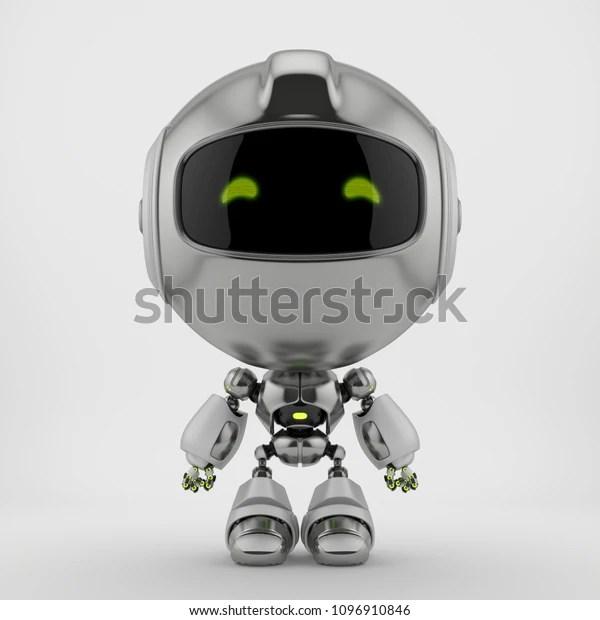 cute robot toy 3d