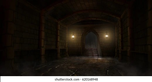 medieval dungeon images stock