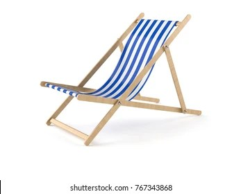 deck chair images how to hang a swing indoors stock photos vectors shutterstock isolated on white background 3d illustration