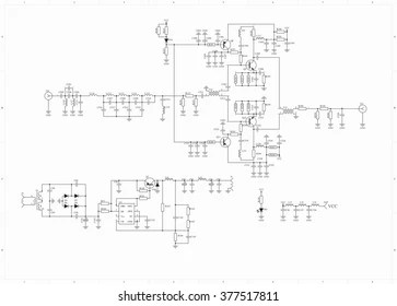 Circuit Diagram Symbols Images, Stock Photos & Vectors