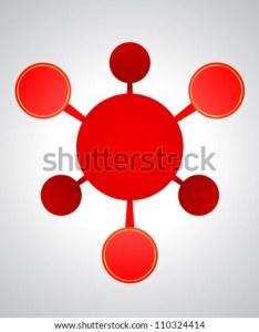 Empty flow chart diagram on gray white background also stock illustration royalty free rh shutterstock