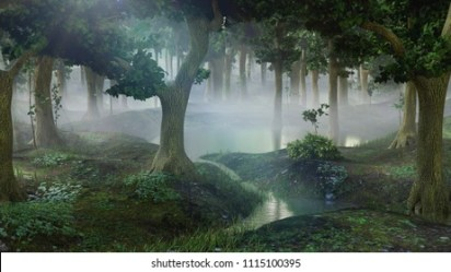 Fantasy Forest Images Stock Photos & Vectors Shutterstock