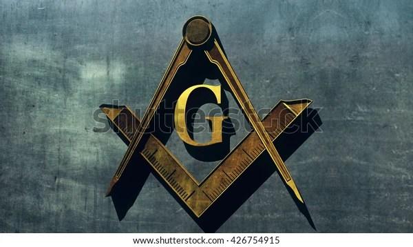 Free Masonic Grand Lodge Sign Editorial Stock Illustration 426754915