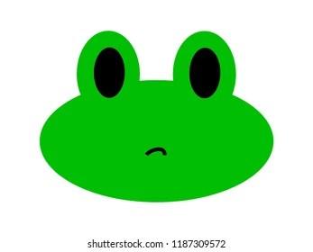 frog emoji images stock